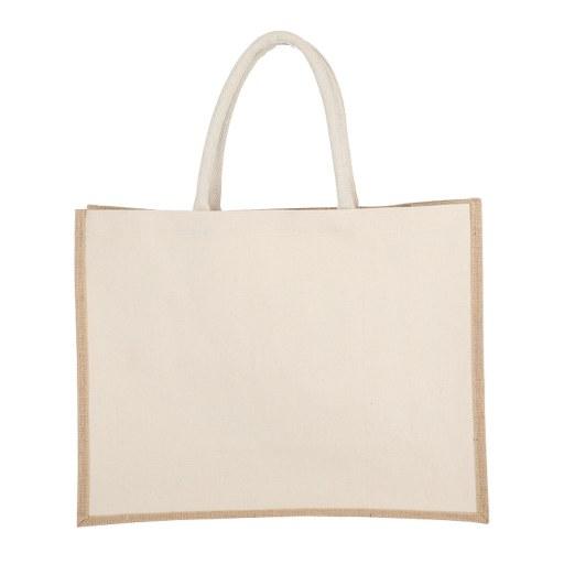 Bolsa de Yute con lado de algodón 35x45x17 (cm)