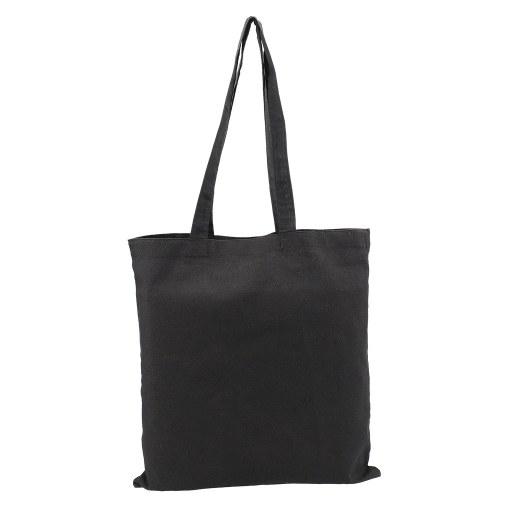 Bolsa de Algodón negra 42x38 (cm)