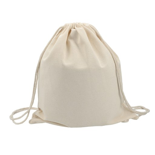 Mochila de Algodón 6 onzas tipo mochila 42x38 (cm)